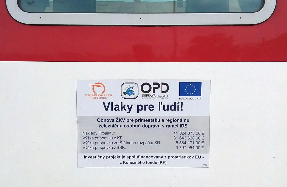 EU financovala nákup nových vozňov